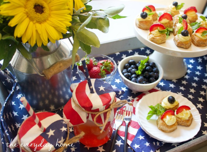 July 4th Cheesecake Bites by The Everyday Home  www.everydayhomeblog.com