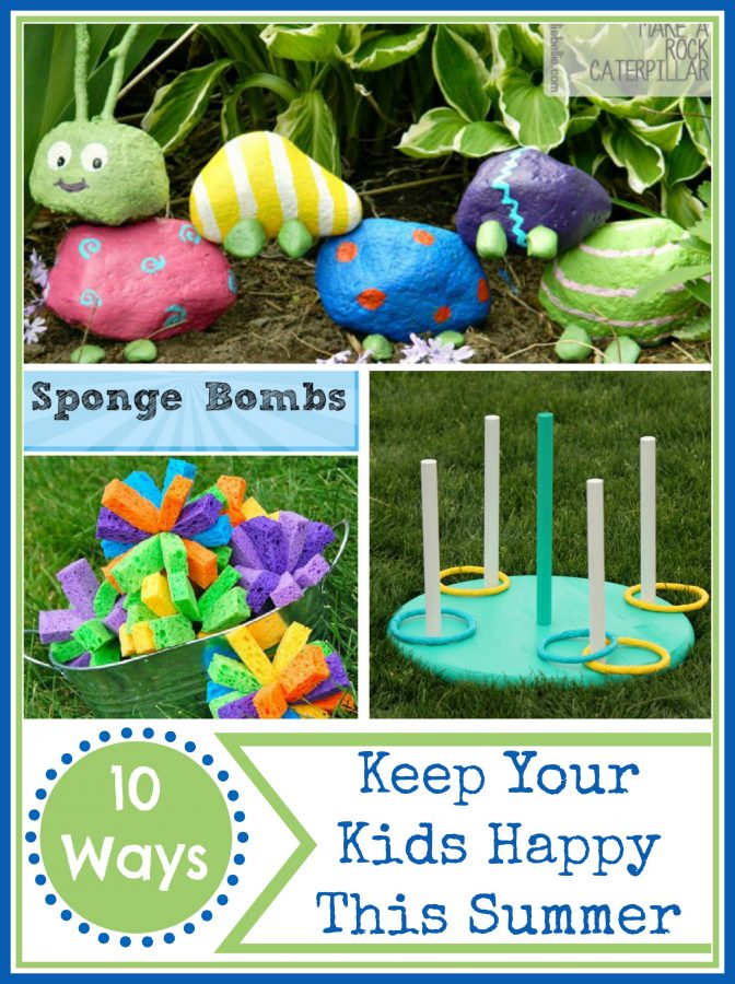 Kids Activities for Summer at The Everyday Home | www.everydayhomeblog.com