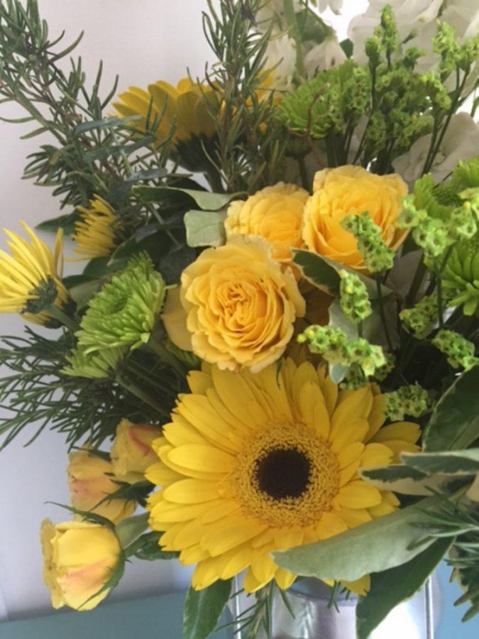 Mixed Flower Bouquet  The Everyday Home  www.everydayhomeblog.com