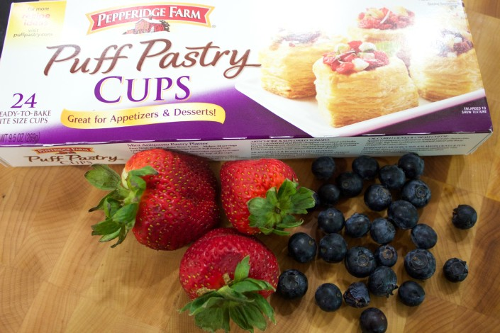 Puff Pastry and Fruit