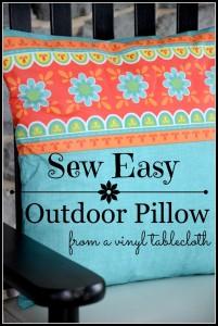 Easy Outdoor Pillows