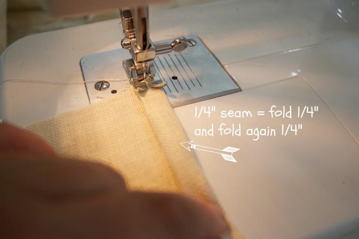 Sewing a Seam