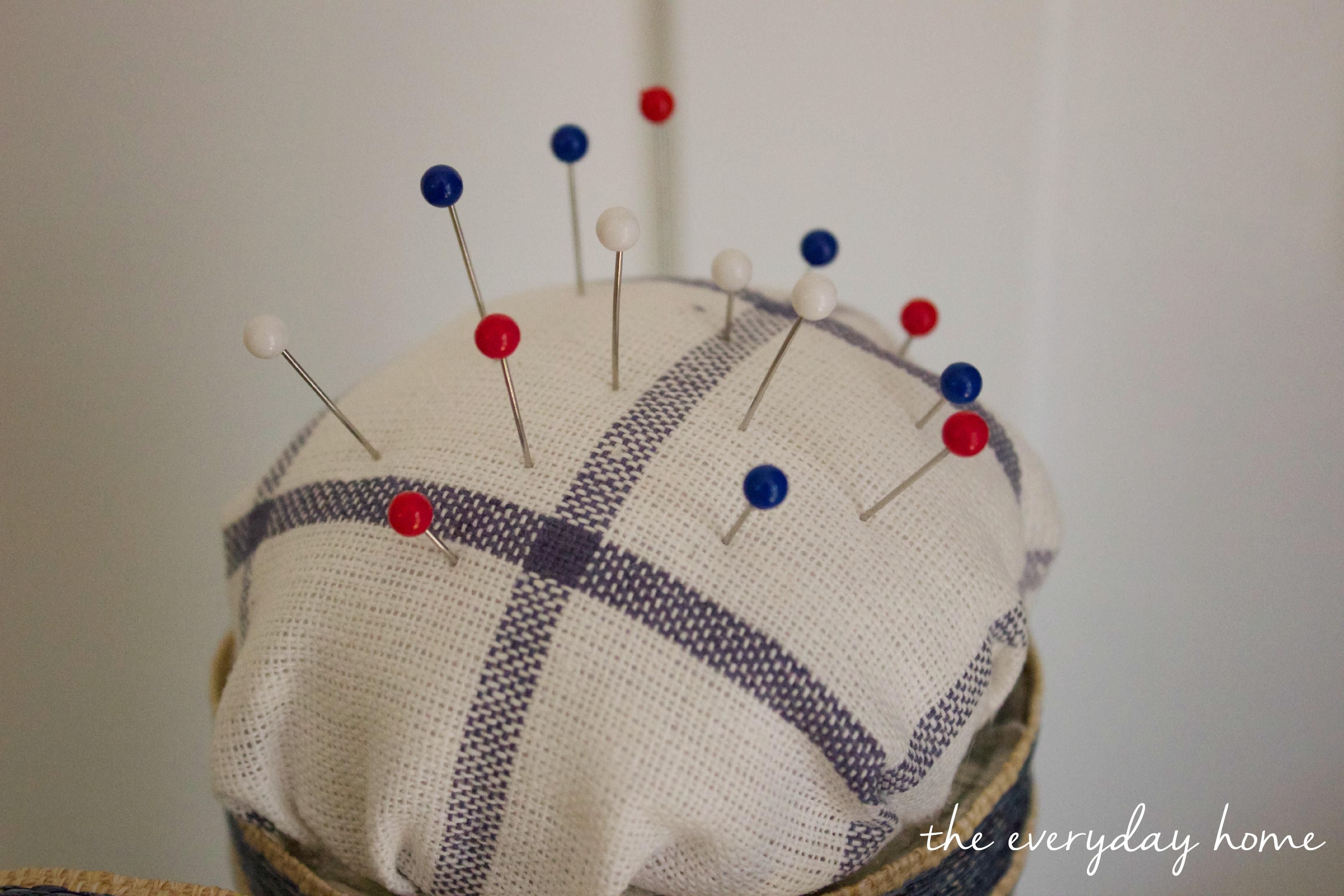 Pin Cushion Mason Jar   The Everyday Home   www.everydayhomeblog.com