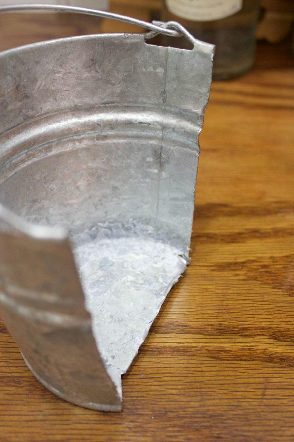 Bucket Cut in Half
