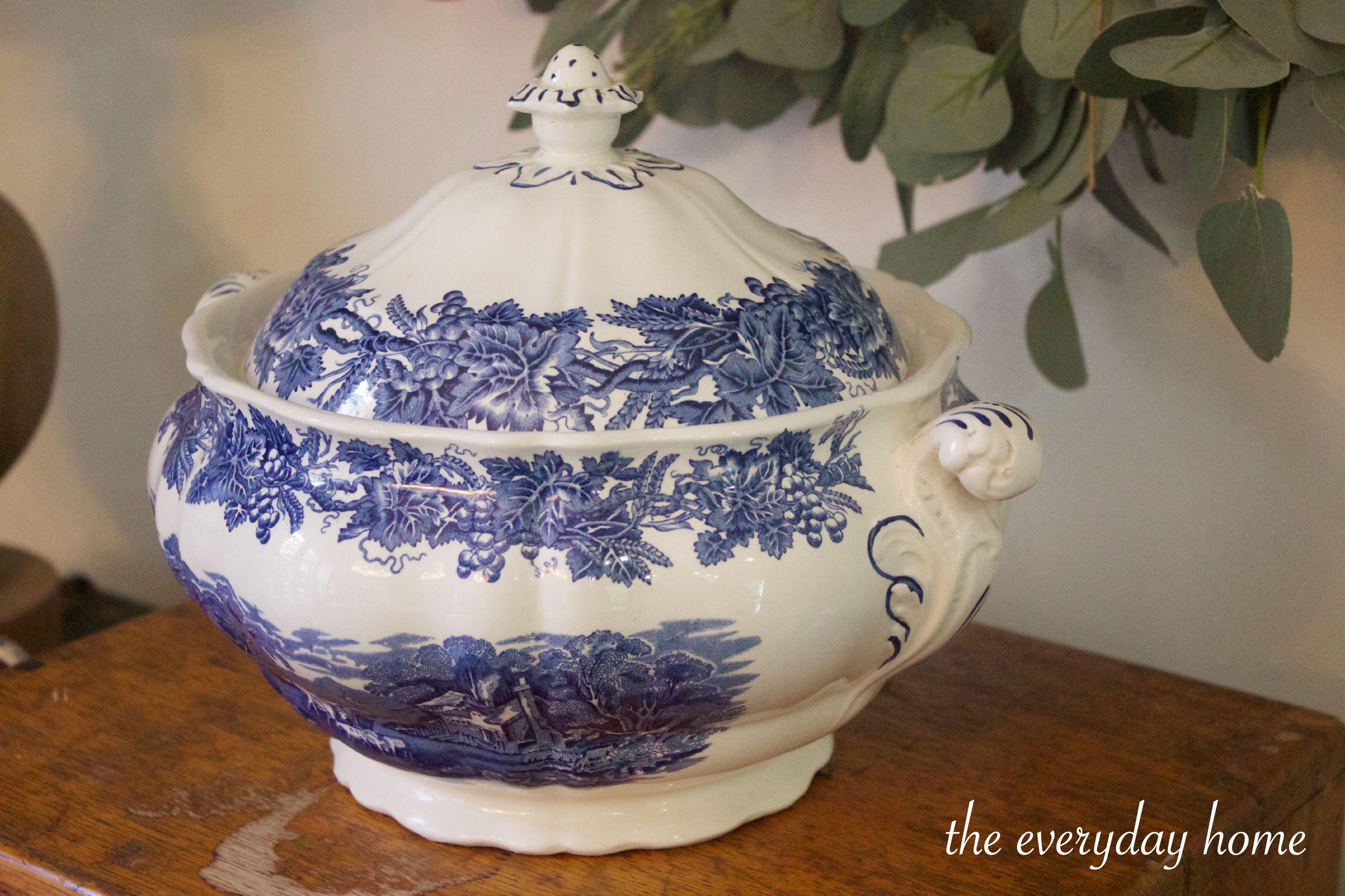 English Soup Tureen | The Everyday Home | www.everydayhomeblog.com