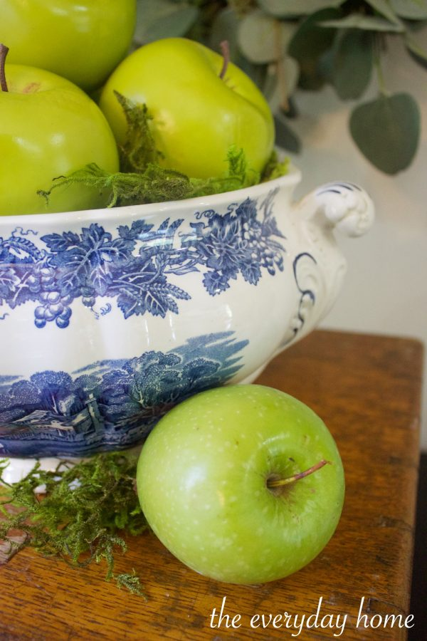 Green Apples | The Everyday Home | www.everydayhomeblog.com