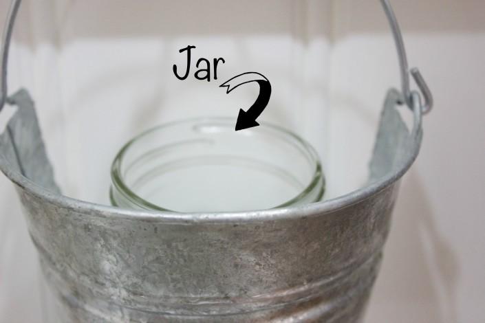 Jar in Bucket