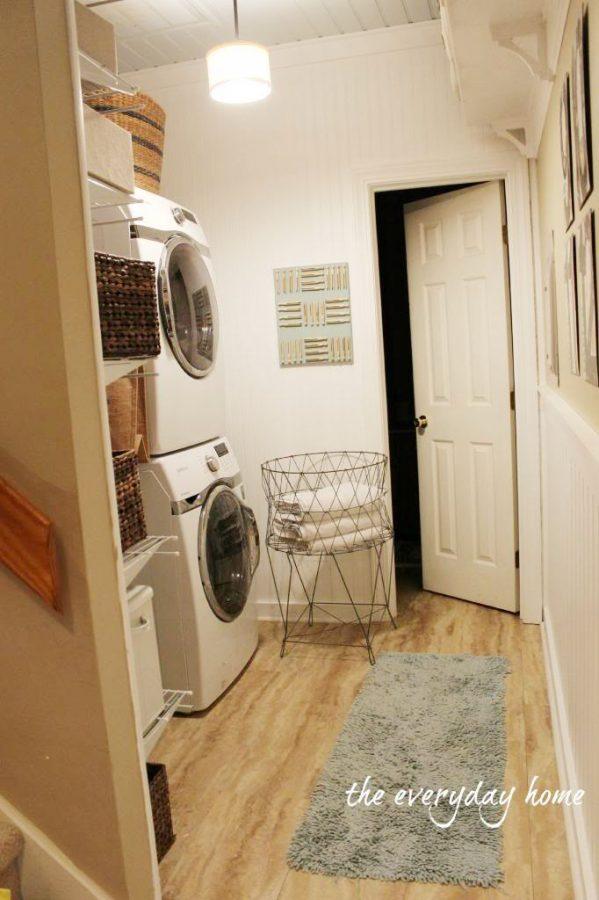 The Laundry Room | The Everyday Home | www.everydayhomeblog.com