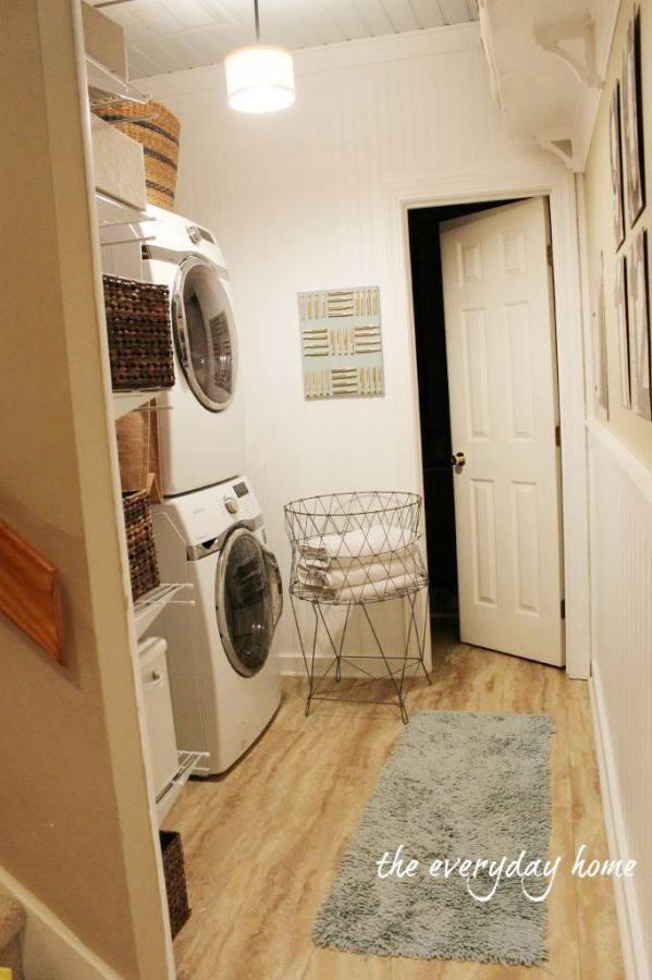 The Laundry Room | The Everyday Home | www.everydayhomeblog.com