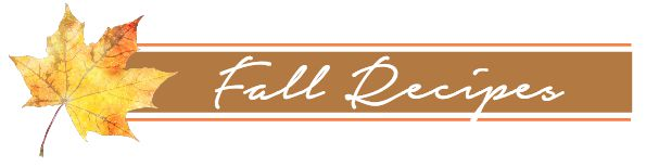Fall Recipes Button