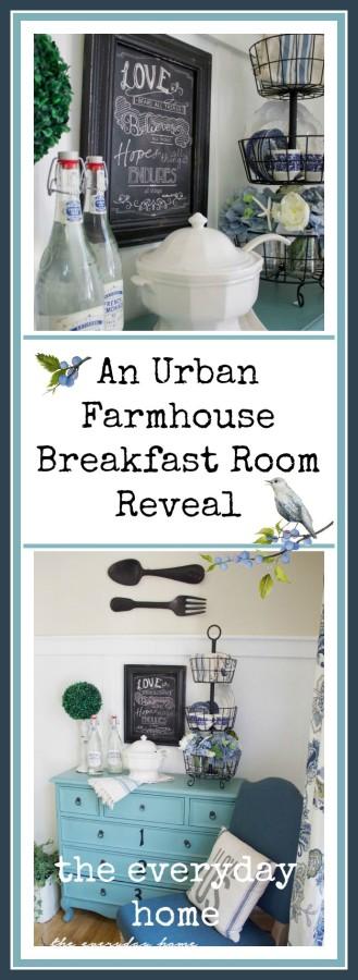 Urban Farmhouse | The Everyday Home | www.everydayhomeblog.com