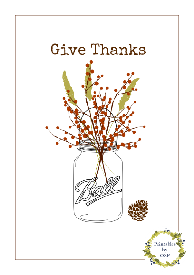 20+ Fall Themed Mason Jar Projects | The Everyday Home | www.everydayhomeblog.com