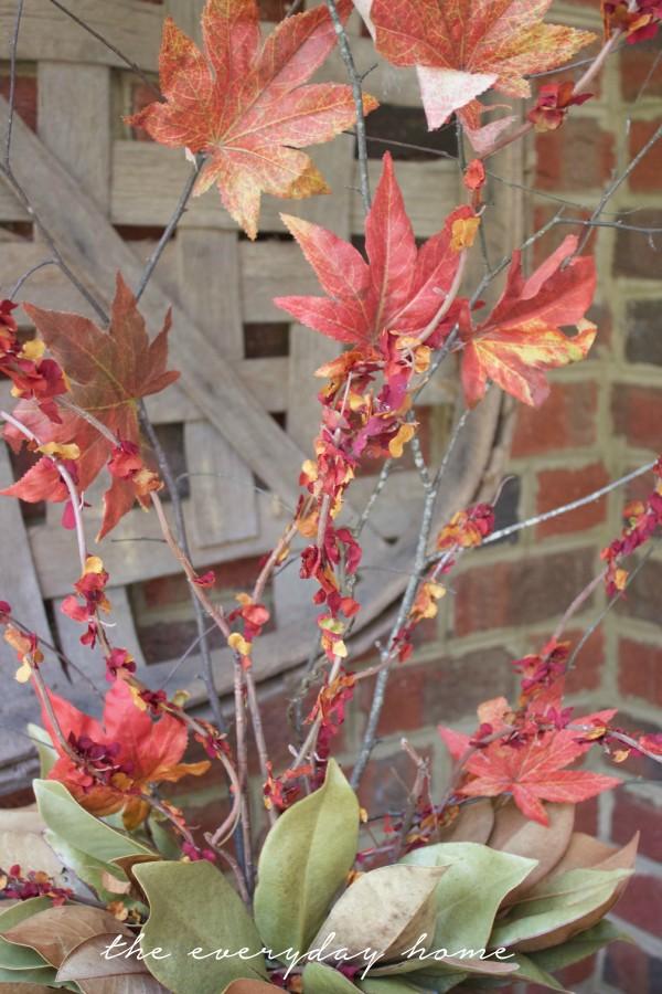 DIY Faux Fall Branches | The Everyday Home Blog | www.everydayhomeblog.com
