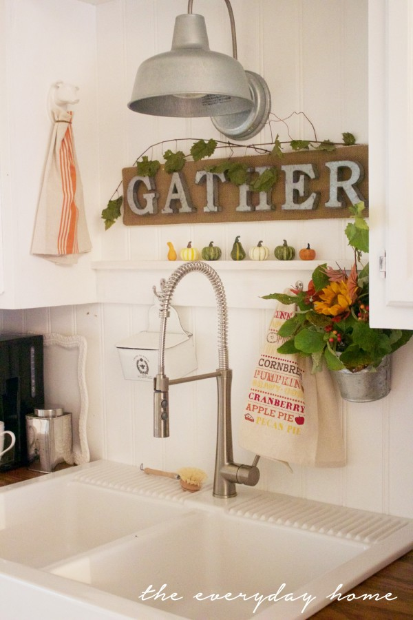 "Make a DIY ""Gather"" Sign 