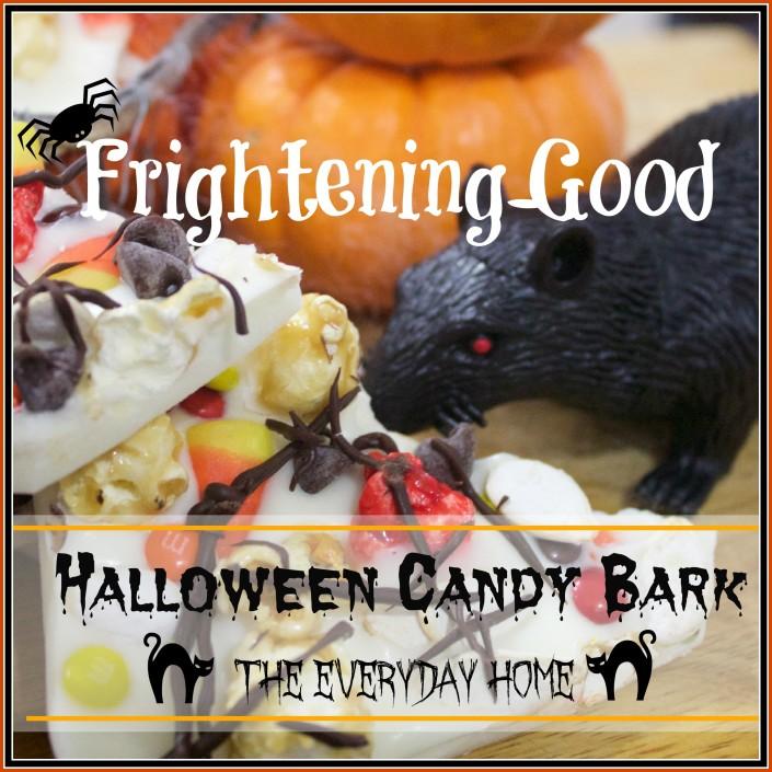 Halloween Candy Bark  | The Everyday Home | www.everydayhomeblog.com