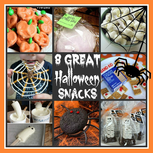 8 Great Halloween Snacks | The Everyday Home | www.everydayhomeblog.com