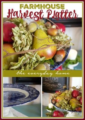 Farmhouse Style Harvest Platter