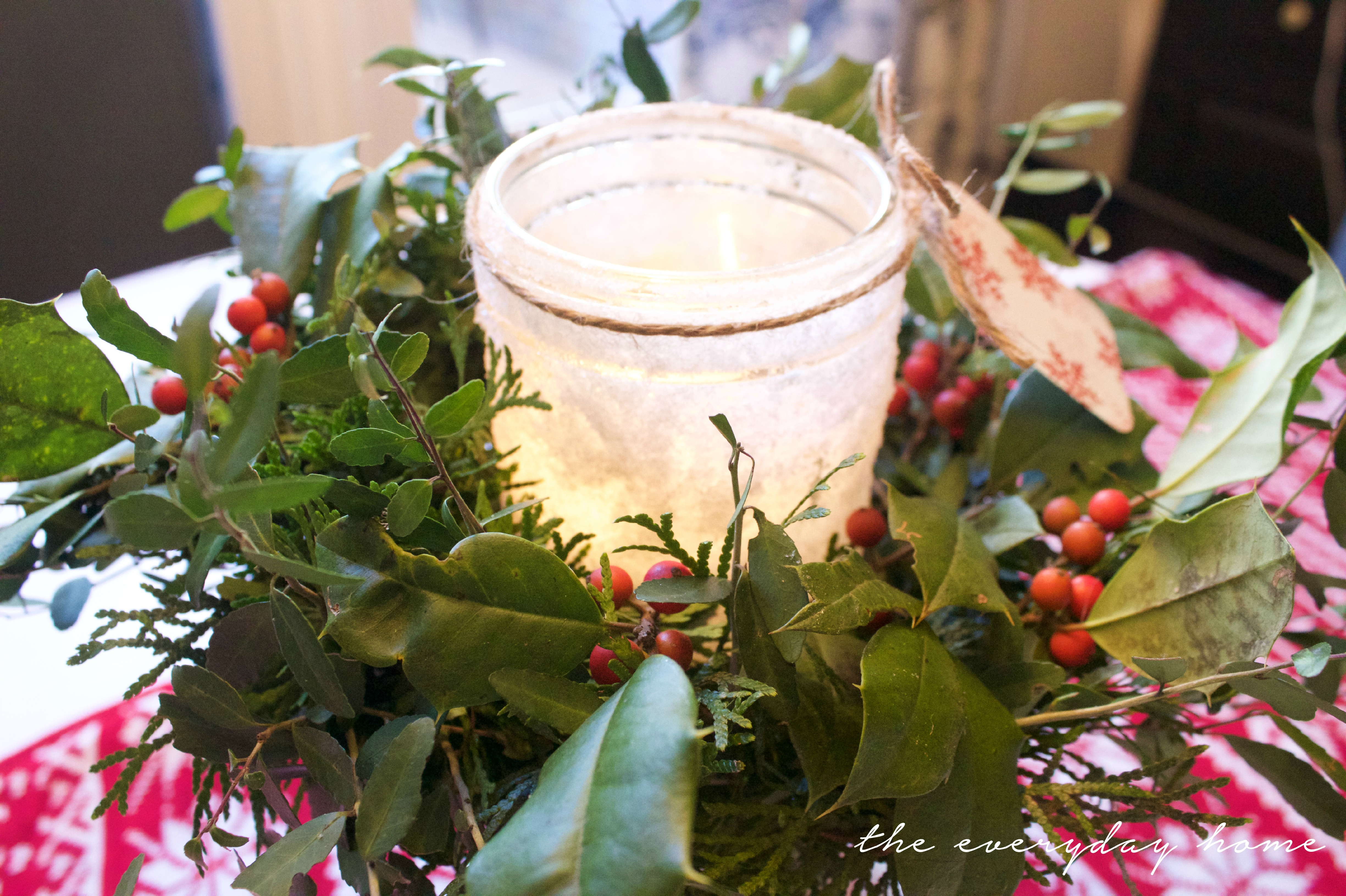 DIY Iced Mason Jar Candle | The Everyday Home Blog | www.everydayhomeblog.com