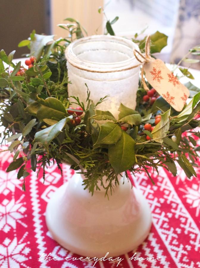 Easy Iced Mason Jar | The Everyday Home | www.everydayhomeblog.com
