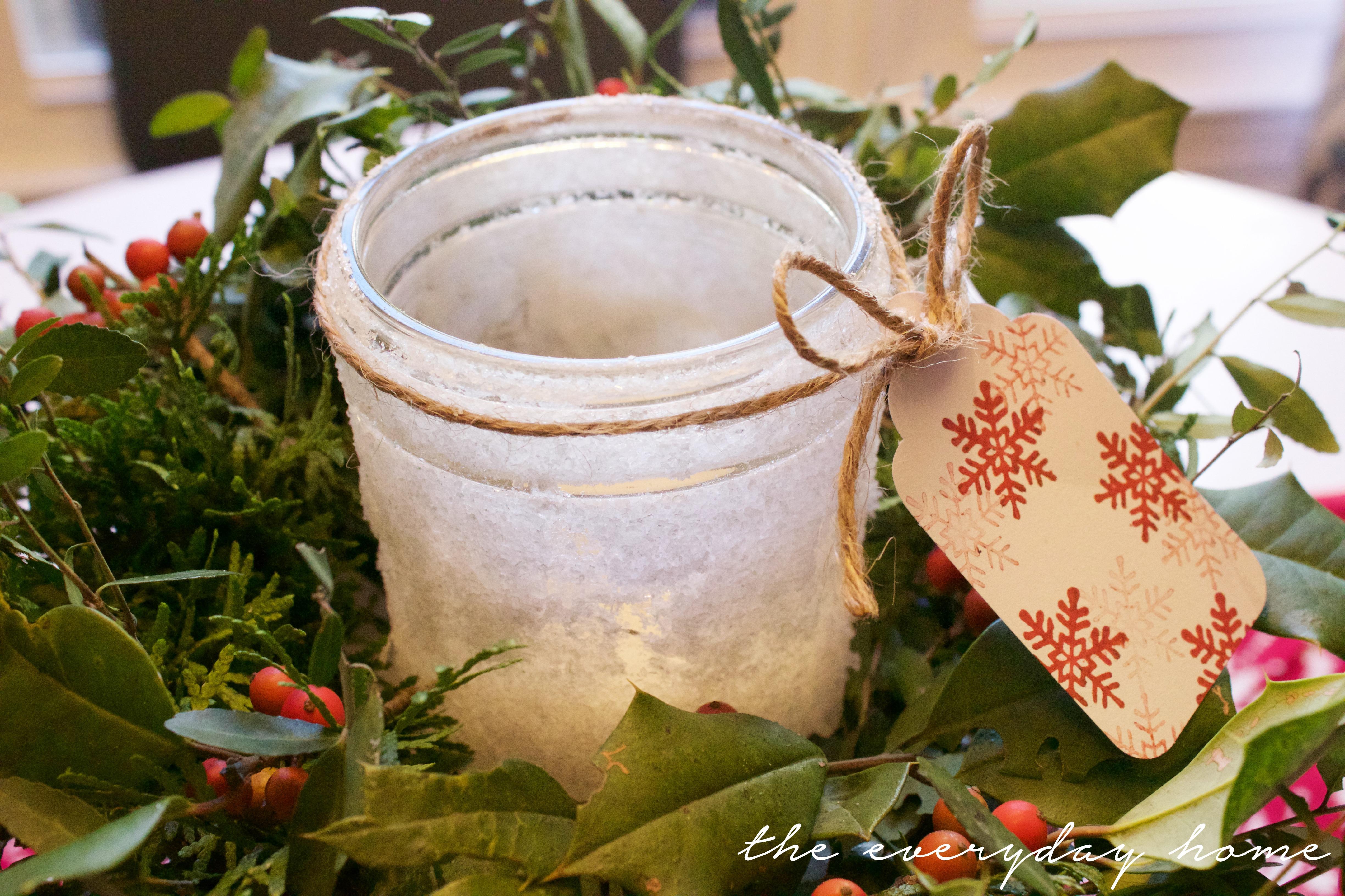 Iced Mason Jar Candle | The Everyday Home | www.everydayhomeblog.com