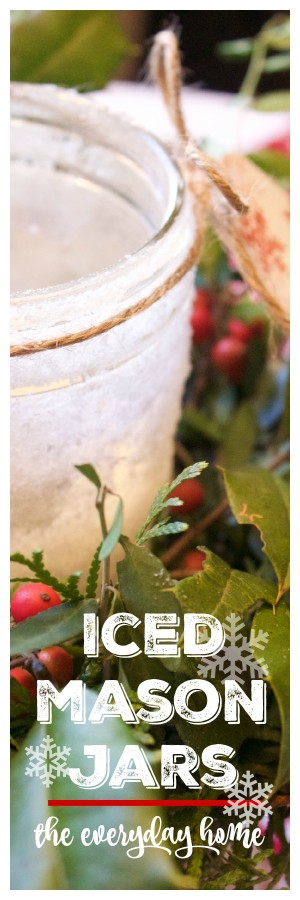 Iced Mason Jar | The Everyday Home Blog | www.everydayhomeblog.com