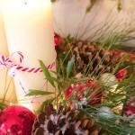 Christmas Vignette Farmhouse Style