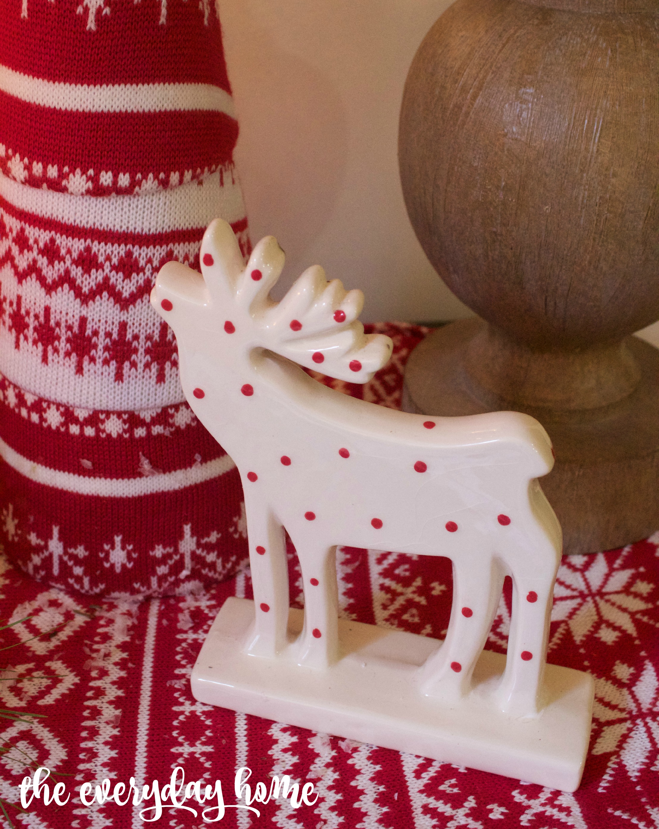 Polka Dot Moose | The Everyday Home | www.everydayhomeblog.com