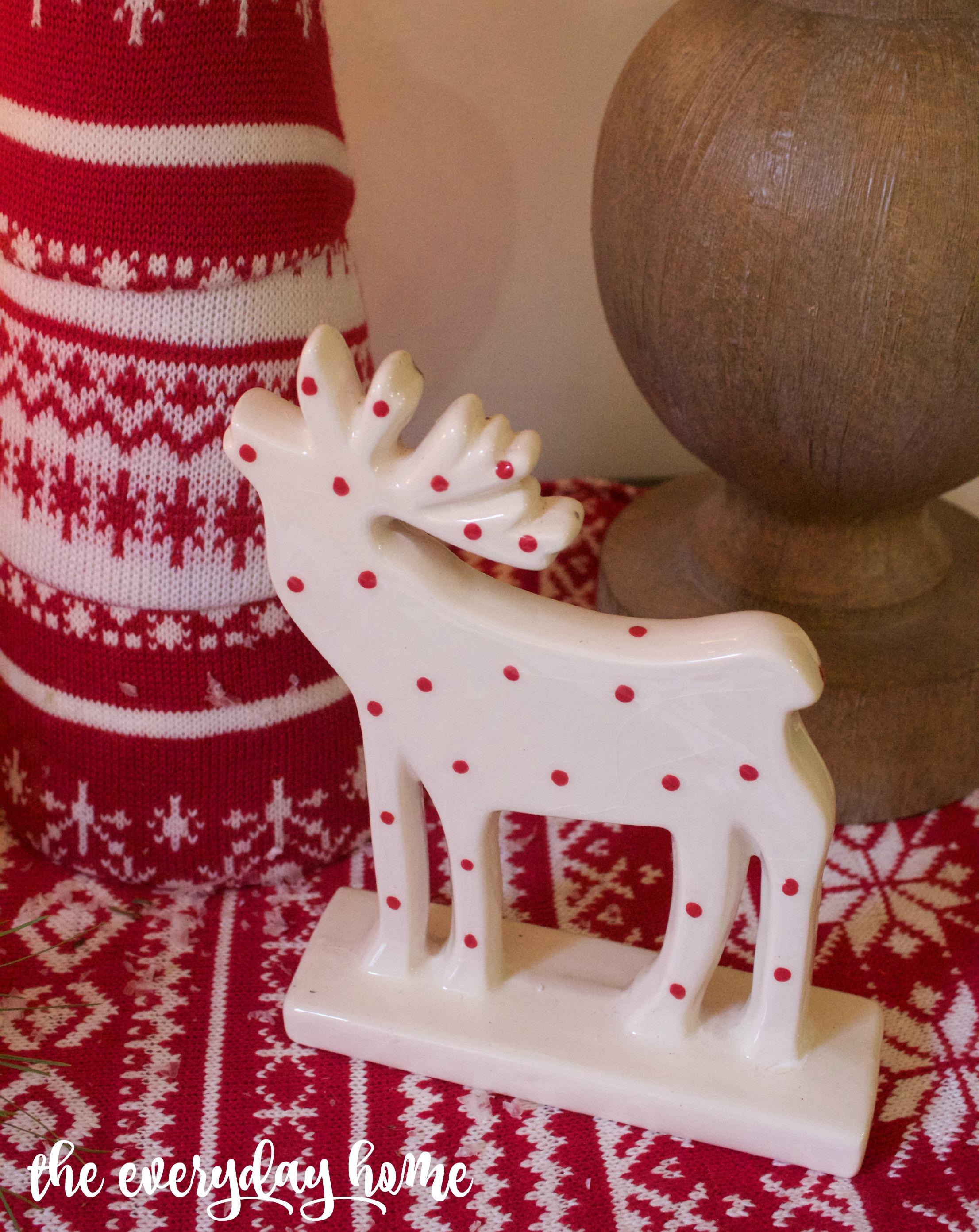 Polka Dot Moose | The Everyday Home | www.everydayhomeblog.com