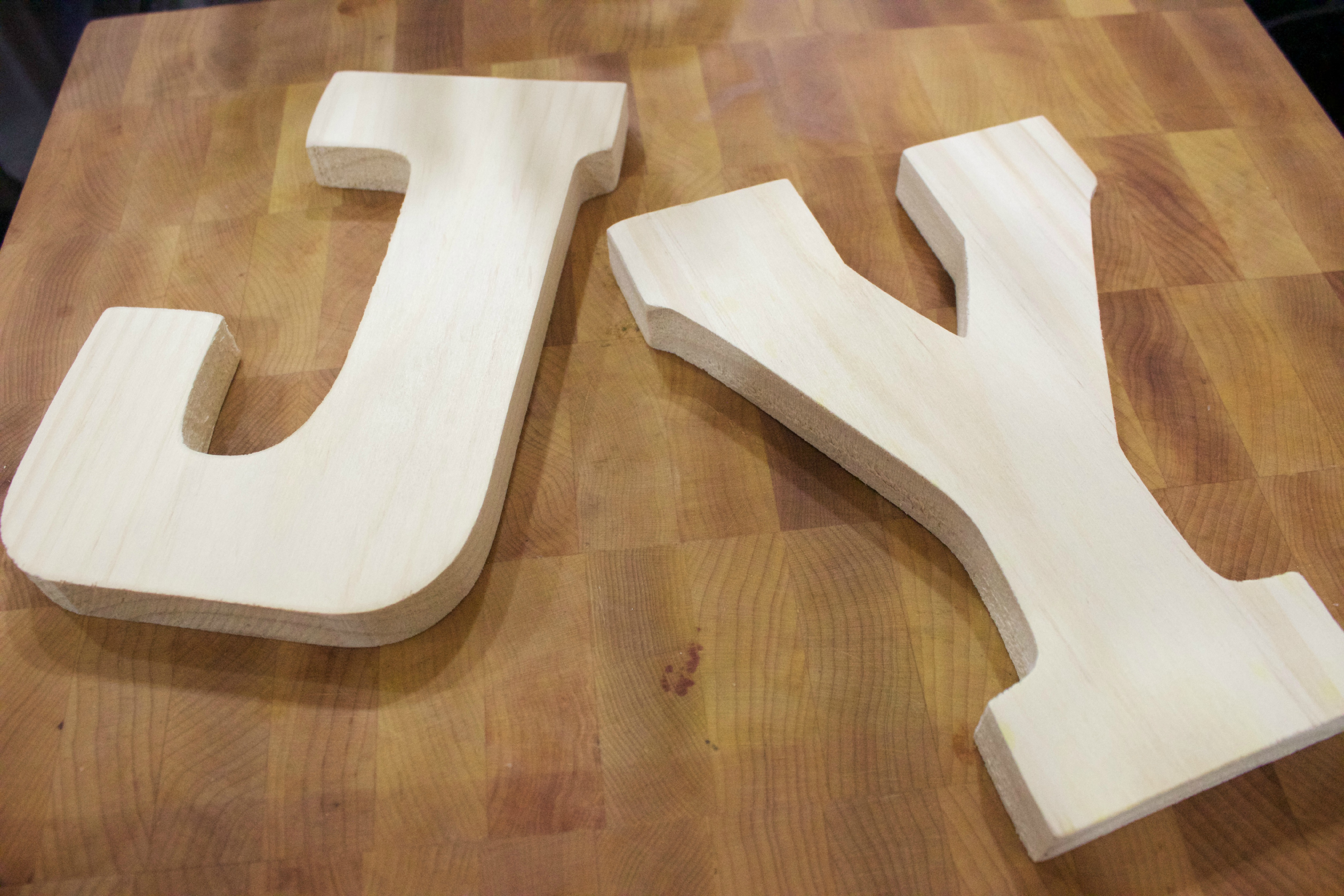 Wood Letters From Hobby Lobby The Everyday Home