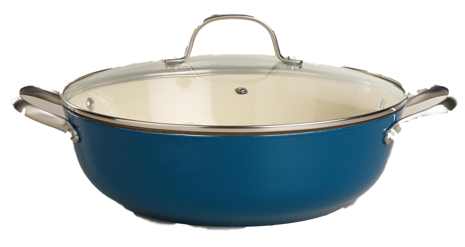 blue braiser