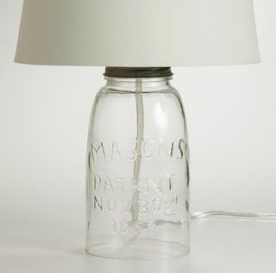 Mason Jar Lamp Base |Ultimate Gift Guide for Mason Jar Lovers | The Everyday Home