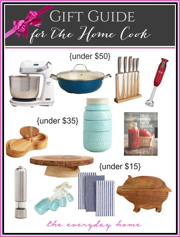 shoppers guide home cook Gift guide