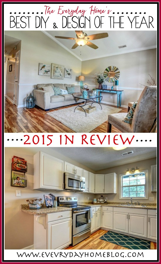 2015 Year in Review - Best of DIY & Design | The Everyday Home | www.everydayhomeblog.com