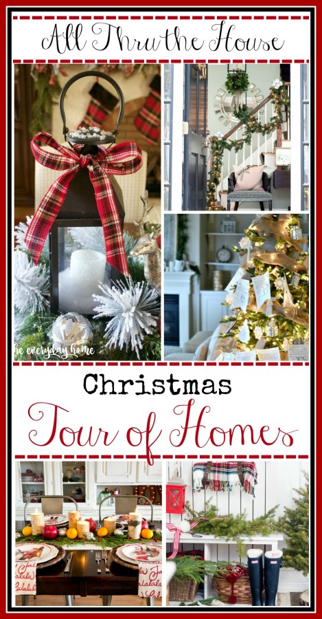 Christmas Tour of Homes | The Everyday Home | www.everydayhomeblog.com