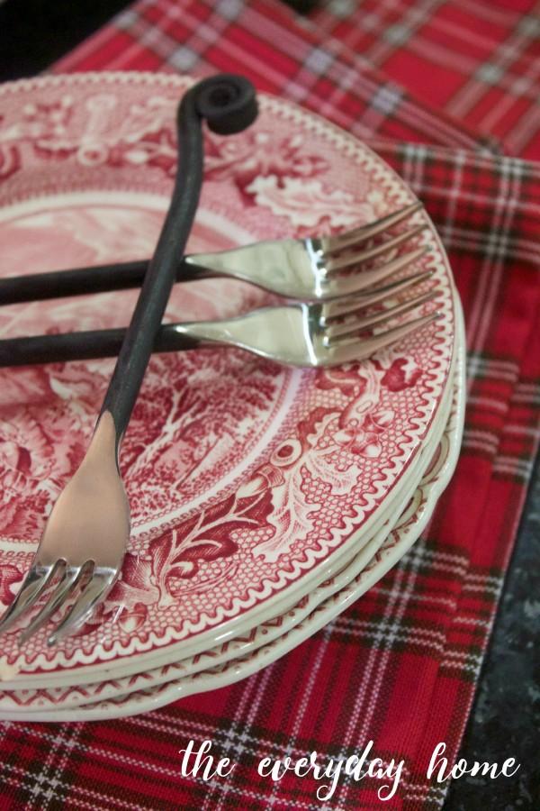 Buffet Plates | The Everyday Home | www.everydayhomeblog.com