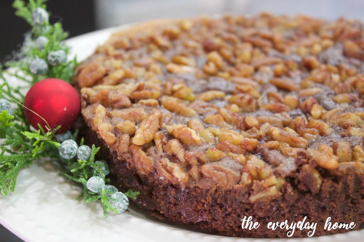 Chocolate Bourbon Pecan Tart | Matthews 1812 House | The Everyday Home Blog | www.everydayhomeblog.com