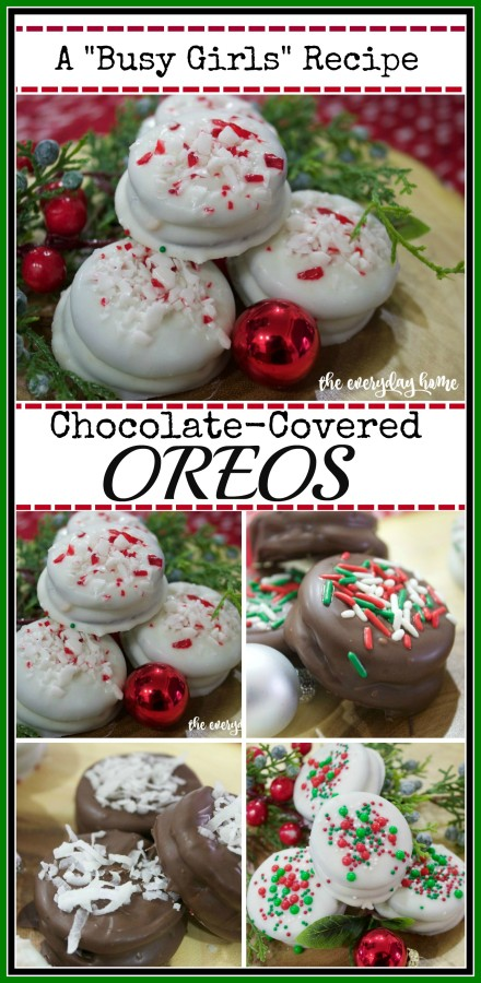 Chocolate Covered Oreo Cookies | 2015 Christmas Cookie Exchange | The Everyday Home | www.everydayhomeblog.com
