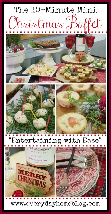 easy christmas entertaining ideas the everyday home