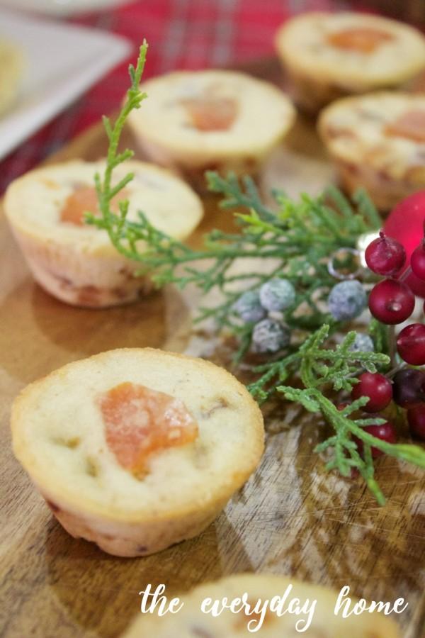 Fruitcake Bites | The Everyday Home | www.everydayhomeblog.com