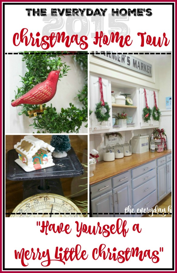 Have Yourself a Merry Little Christmas Home Tour | The Everyday Home | www.everydayhomeblog.com
