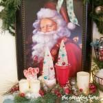 Breakfast Room Christmas Vignette