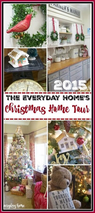 The Everyday Home's 2015 Christmas Home Tour   www.everydayhomeblog.com