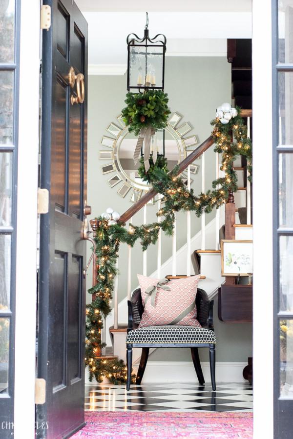 Christmas Tour of Homes | The Everyday Home| www.everydayhomeblog.com