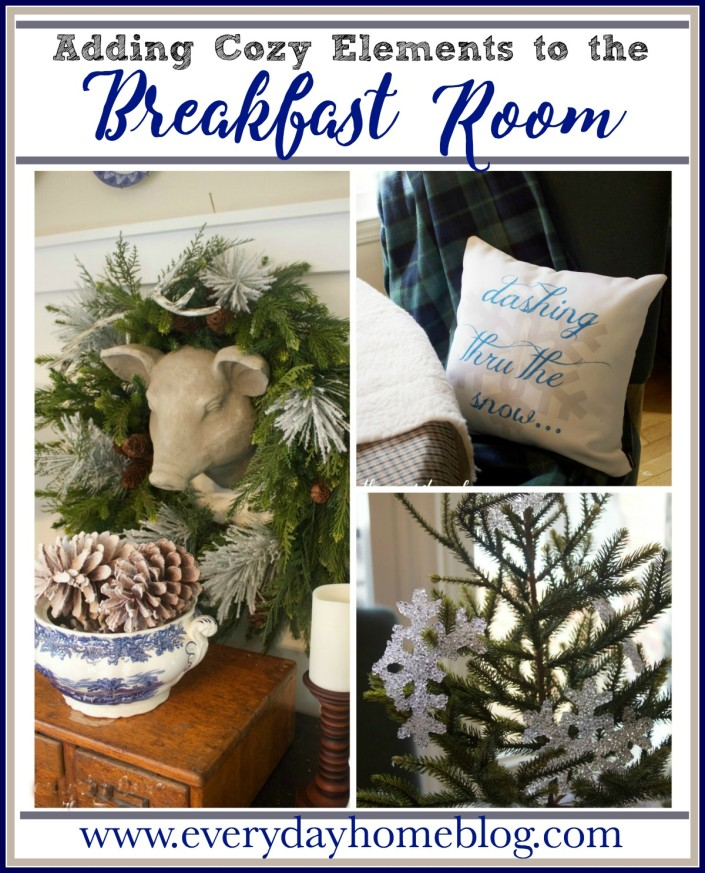 Adding Winter Elements | The Everyday Home