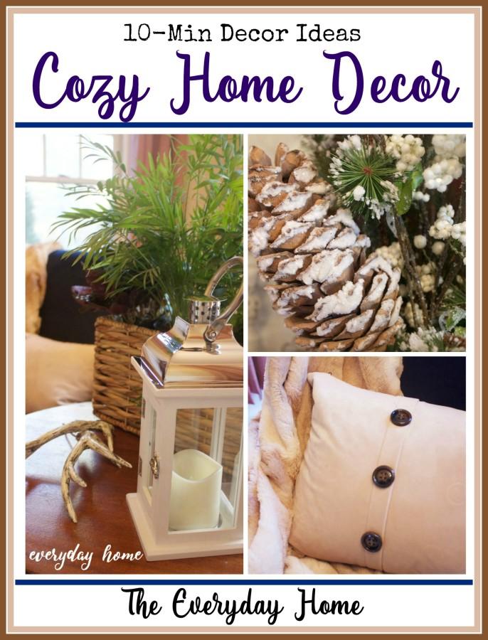 Cozy Home Decor Ideas | The Everyday Home Blog