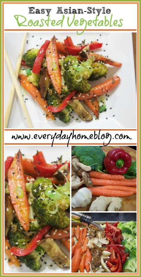 Easy Asian-Style Roasted Vegetables | The Everyday Home