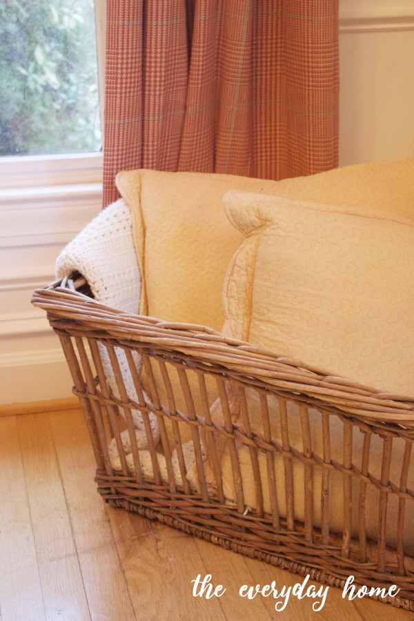French Laundry Basket | The Everyday Home