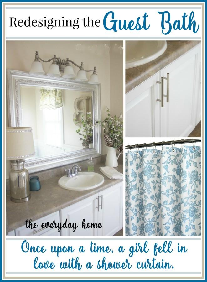 Guest Bath Redesign | The Everyday Home | www.everydayhomeblog.com