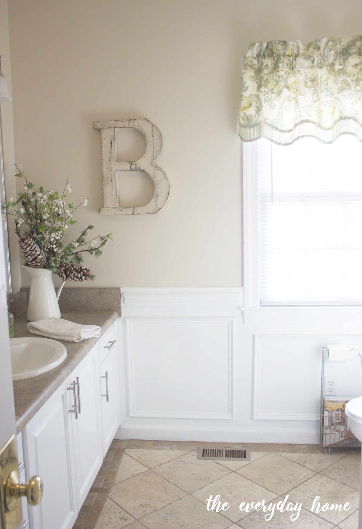 Guest Bathroom Design Plan - The Everyday Home