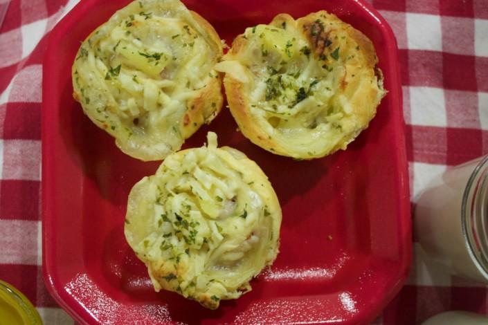 Ham Swiss and Pineapple Popovers | The Everyday Home | www.everydayhomeblog.com